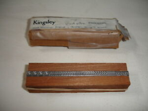 Kingsley Stamp Machine 18 Point Park Avenue Spanish Accents Type Set