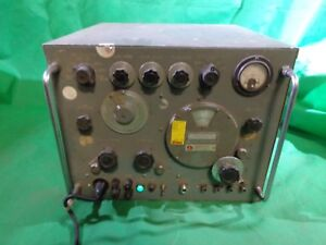 Vintage Hewlett Packard Hp 620a Signal Generator Turns On