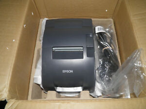 New Epson Tm u220b Dot Matrix Pos Receipt Printer M188b Ethernet W Power