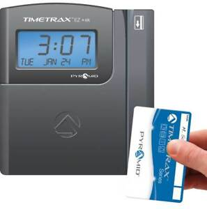 Automated Swipe Card Time Clock System id 3313767