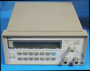 Hp 5385a Frequency Counter 10hz To 1ghz In Working Condition