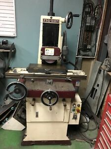 Chevalier Fsg 618m Manual Surface Grinder And Lathe