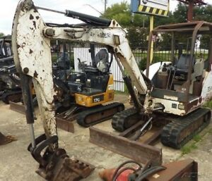 2006 Bobcat 334g Mini Excavator Coming Soon