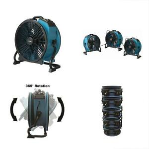 X 47atr Categories Variable Speed Sealed Motor Axial Air Mover