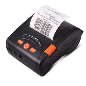 Mobile Thermal Receipt Printer Bluetooth Munbyn 58mm For Android Iphone Ipad And