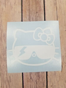 Cool Lady Gaga Hello Kitty Car Window Home Yeti Laptop Decal Color Size Avail