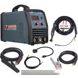 Tig 160 Amp Tig Torch Stick Arc Mma Dc Inverter Welder 110v 230v Welding New