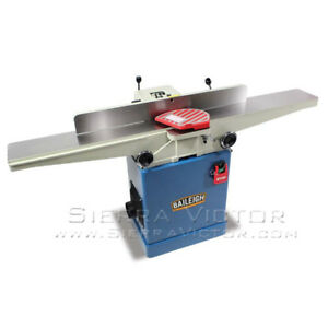 Baileigh Long Bed Jointer With Helical Cutter Head Ij 666 hh