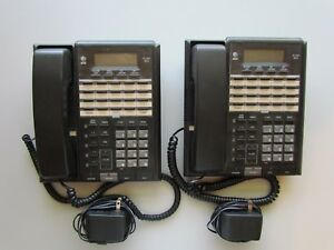 2 At t Model 854 4 line Intercom Business Speaker Phones Free Shipping
