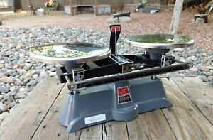 Ohaus Harvard Trip Balance Scale 2 Kilo Capacity With Cover Excellent Condition
