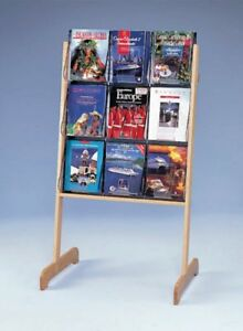 A4 X 9 Literature Floor Standing Easel Display 58531