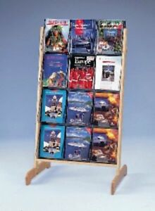 A4 X 12 Literature Floor Standing Easel Display 58541