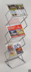 Mobile Literature Display Stand 2 Sided 6 X A3 Dr1010