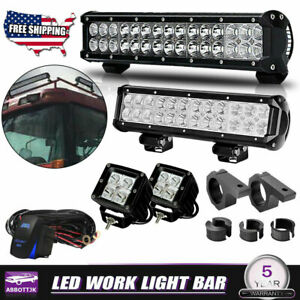 Led Light Kit Fit Tractor Combine Backhoe Deere Cat Case Massey Kubota Ford