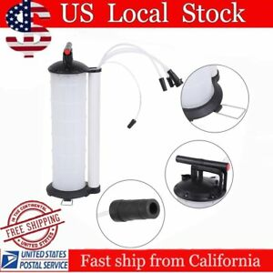 170psi Vacuum Oil Fluid Extractor 7l Manual Fuel Petrol Syphon Pump Transfer As