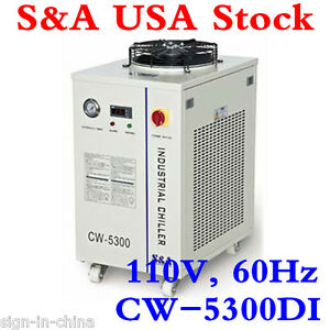 110v 60hz Cw 5300di Industrial Water Chiller For 200w Co2 Laser 100w Laser Diode