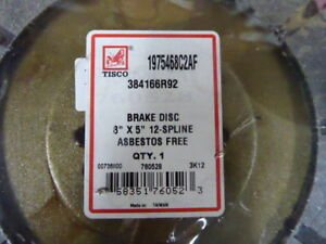 384166r92 1975468c2 Brake Discs Farmall Ih 706 806 856 966 756 1066 1026 Tisco
