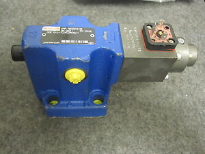 Rexroth R900916122 Proportional Relief Valve Dbe10 51 100yg24k4m 1