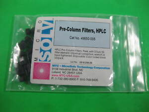 Micro Solv Pre column Filters Hplc 0 5 m 49650 005 7054 862 pack Of 8
