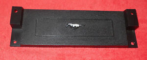 1969 1970 Mustang Orig Dash Clock Delete Blanking Plate Panel Visibility Group