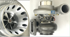 T4 Flange Billet Compressor Wheel 70 A r 68 Exhaust 3 V band Turbocharger