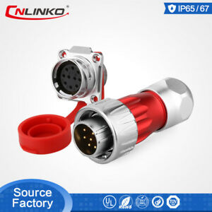 Factory Price M24 Waterproof Ip67 Connector Signal Industrial Electrical Auto