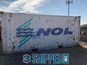 Used 20 Shipping Container Available For Inspection Now In Our Phoenix Az Depot