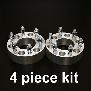 4pc 1 5 Wheel Spacer Adapters 6x135 To 6x5 5 14x2 Studs 6x135 To 6x139 7