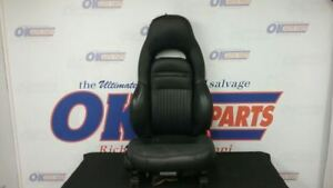 01 Chevy Corvette C5 Front Passenger Right Power Seat Black Leather