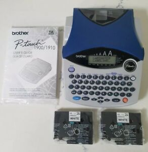 Brand New Brother P touch Electronic Label Maker Pt 1900c