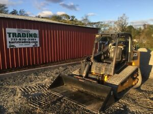 2014 Jcb 320t Tracked Skid Steer Loader W Joysticks 2 Speed
