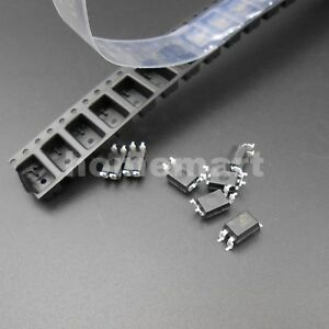 500pcs 1000pcs Hq El817s c Sop 4 Pc817c El 817 C Smd Optocoupler Brand New Sharp
