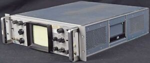 Hp Agilent 191a Industrial Tv Television Waveform Oscilloscope 3u Rack Parts