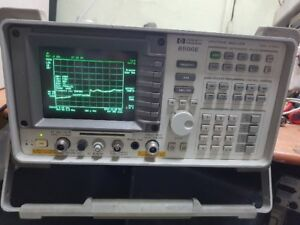 Agilent Hp 8596e Spectrum Analyzer Opt 004 101 130 010 024 W Tracking Generator
