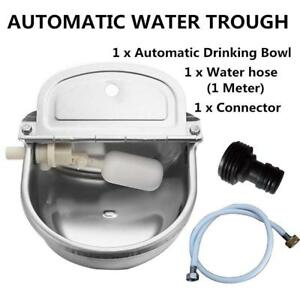 Openbox Automatic Water Trough Stainless Steel Bowl Auto For Dog Horse Sheep