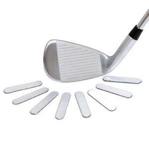 8pcs Golf Club Lead Tape to Add Swing Weight Golf Racket Iron Putter Accessory