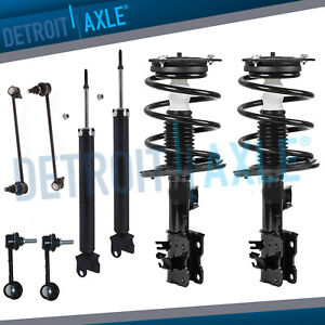 Nissan Altima Struts Shock Absorbers Sway Bar Links Fits All Front Rear