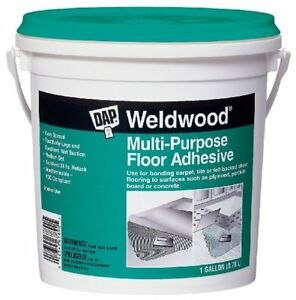 Dap 00142 Weldwood Multi purpose Floor Adhesive Gallon