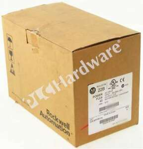 New Sealed Allen Bradley 22b b2p3n104 Series A Powerflex 40 Ac Drive 240v 2 3a