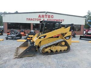 2013 Caterpillar 259b3 Skid Steer Loader Bobcat Multi Terrain Low Hours
