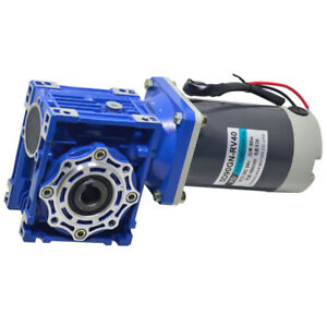 5d90gn rv40 Dc24v 90w 18 240rpm Worm Gear Motor Adjustable Speed With Self lock