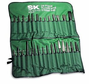 29 Pc Punch And Chisel Set Skt 6029