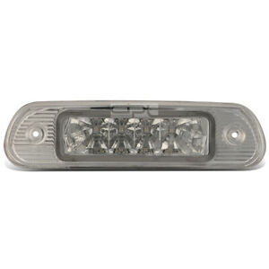 Fit 99 04 Jeep Grand Cherokee Chrome Housing Third 3rd Tail Brake Led Light Lamp