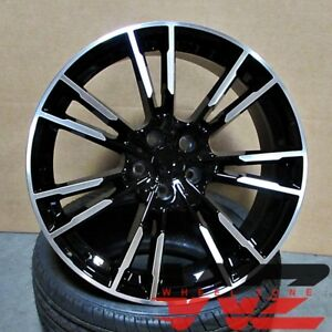19 M5 Style Wheels Black Fits Newer Bmw 328 435 528 530 535 645 750 760 Series