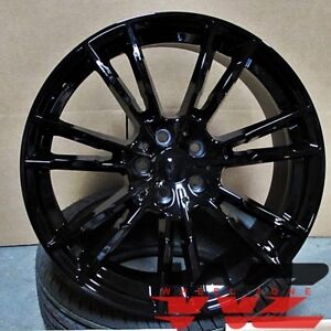 20 M5 Style Wheels Gloss Black Fits Newer Bmw 328 435 528 530 535 645 750 760
