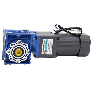 5m90gn rv30 Rv40 90w Ac220v 0 1rpm 5rpm Worm Gear Motor Cw ccw With Rv Reducer