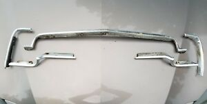 1975 Plymouth Scamp Hood Chrome Fender Chrome Surround