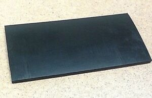 Neoprene Rubber Sheet Solid 3 8 Thk X 8 X 10 Rect Pad 60 Duro