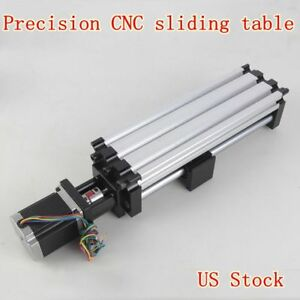 Ball Screw Linear Actuator Cnc Slide Stroke Long Stage Actuator Stepper Motor