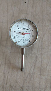 Brown Sharpe Model Mw 216 Dial Indicator Head Made In Germany